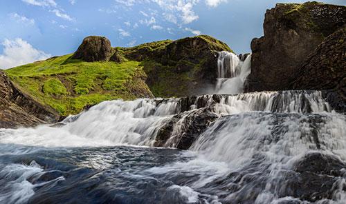 Водопад Троллафосс