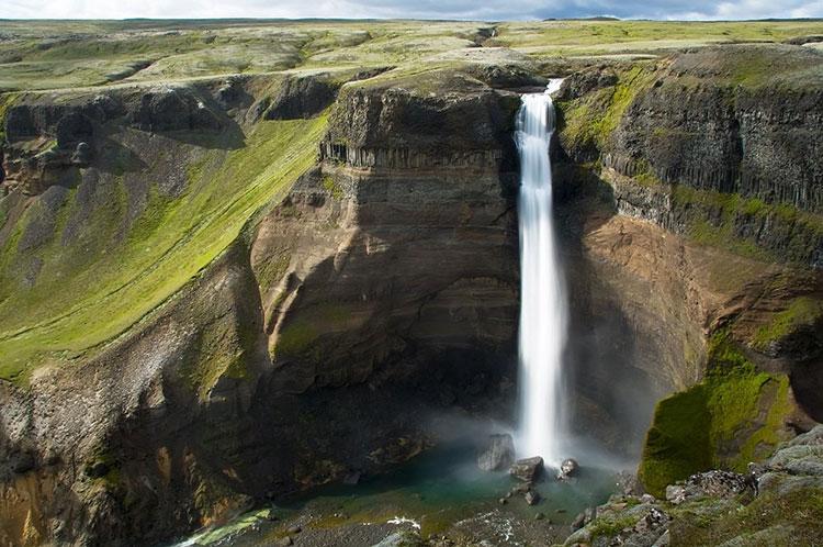 Водопад Хайфосс