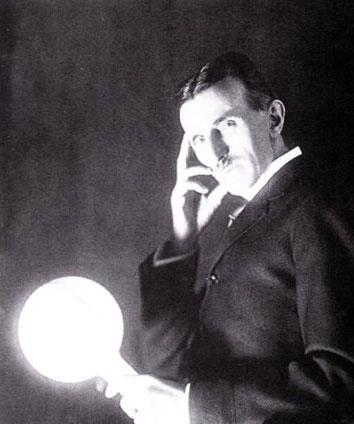 Лампа Николы Тесла