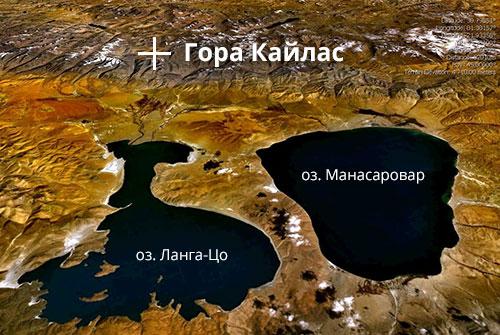 Озера у горы Кайлас