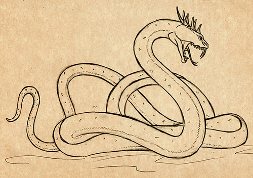 василиск змей