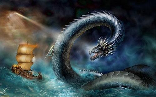 дракон и корабль