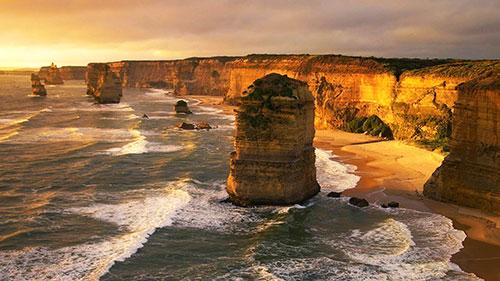 12 апостолов в Австралии