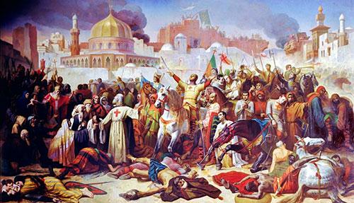 Крестоносцы взяли Иерусалим