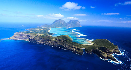 Вулканический остров Лорд-Хау