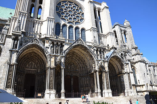 Шартерский собор 13го века