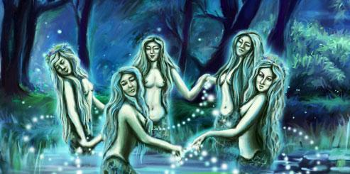 духи воды у древних славян