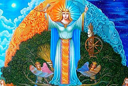 Богиня Мокошь