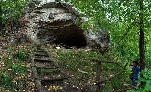 Пещеры в лесу самоубийц