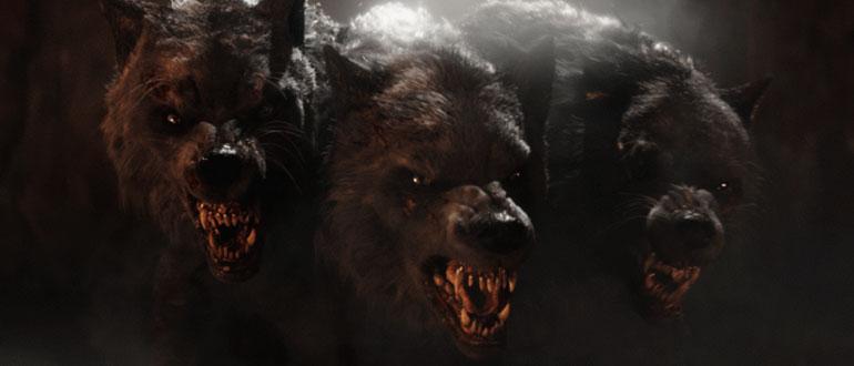 Трехголовый пес Цербер