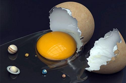 Вселенная из яйца