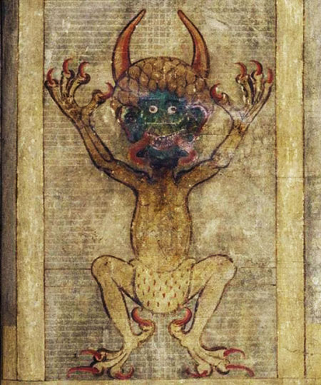 Дьявол из книги