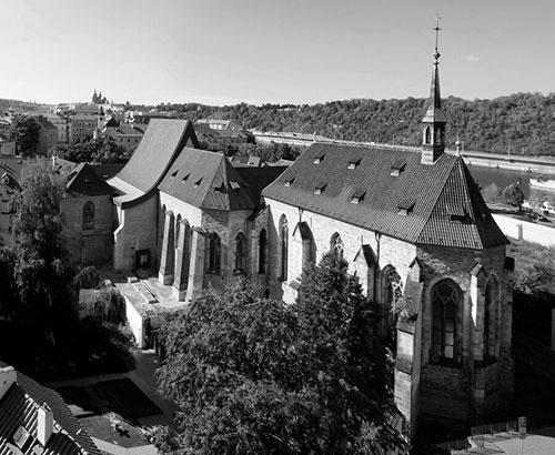 Монастырь в Чехии