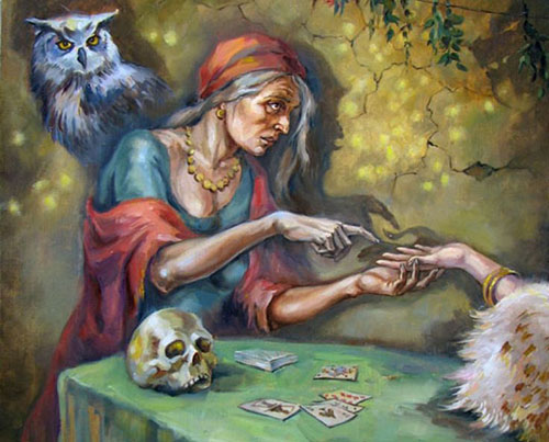 Гадание ведьмы