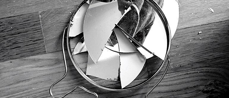 Что делать, если разбилось зеркало