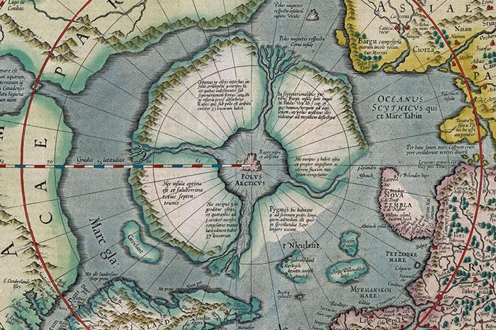 Древняя карта Антарктиды