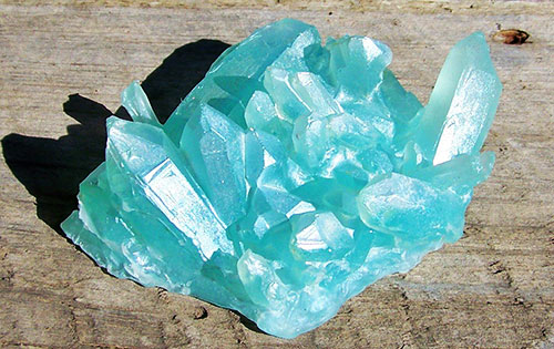 Камень Аквамарин необработанный