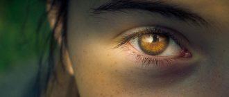 Дёргается правый глаз, нижнее и верхнее веко