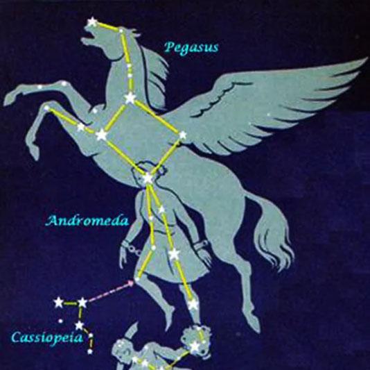 Пегас и Андромеда